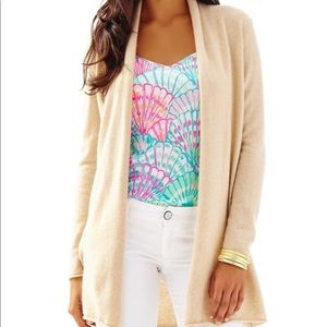 Lilly Pulitzer Open Cardigan